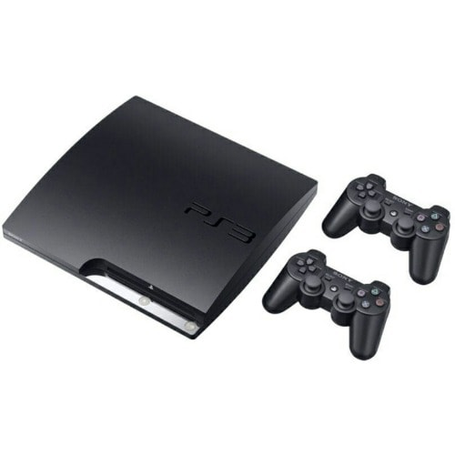 PlayStation 3 Slim 120GB with Extra Pad, FIFA 19 & 9 Other Games
