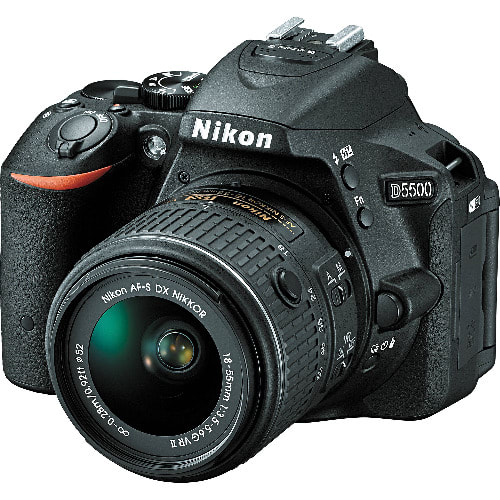 D5500 Dslr Camera With Af-p 18-55mm Lens