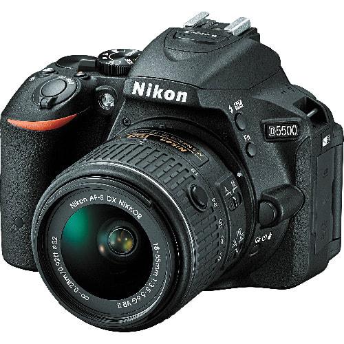 D5500 Dslr Camera With Af-p 18-55mm Lens