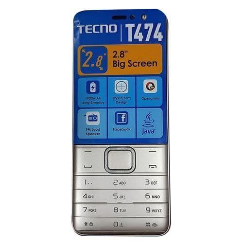 T474 - 2.8 Inch, Radio, Opera Mini, Battery 1900mAh.