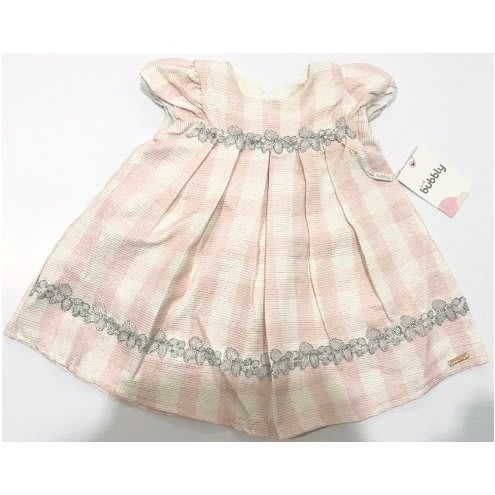 353d036e8 Pink Dress With Stones For Baby Girls