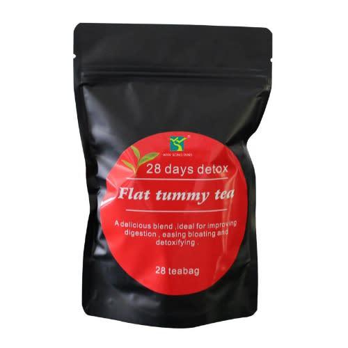28 Days Detox Green Flat Tummy And Slimming Tea.