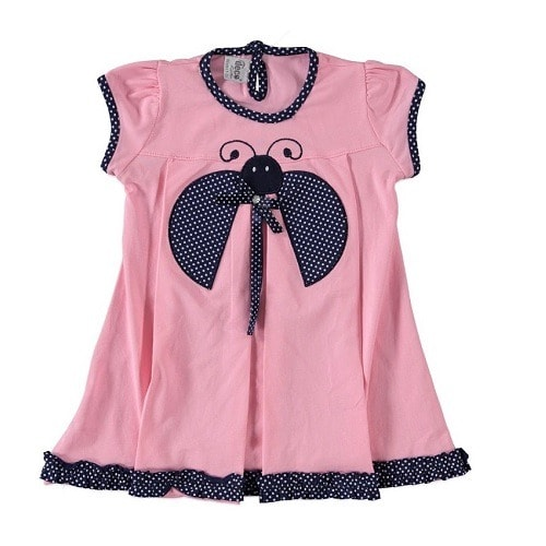 842f215c56a Girls Butterfly Pink Gown