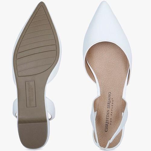 32e4ce638f6 Betty Pointy Sandal Women Shoe- White