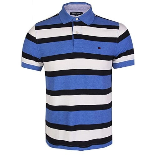 41243298 Tommy Hilfiger Men's Performance Pique Mesh Polo Top - Blue | Konga ...