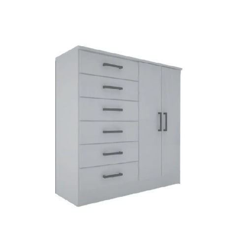 Chest Drawer Storage Cabinet With 6, White Storage Cabinet With Drawers