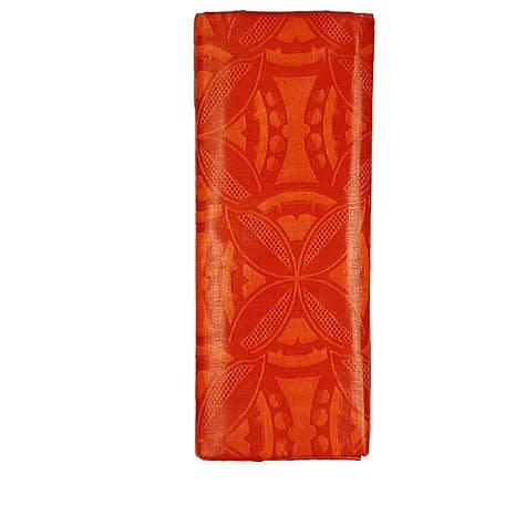 Guinea Brocade - Orange - 5 Yards
