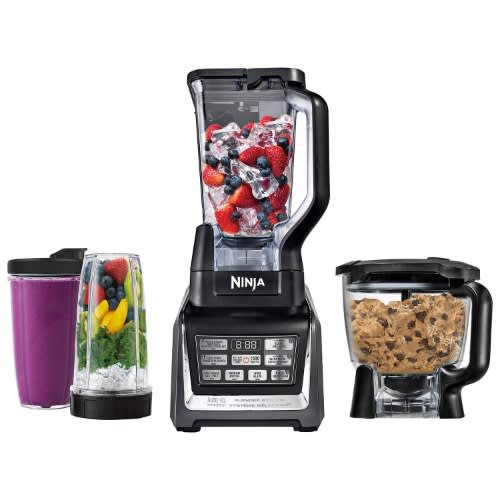 Ninja Auto Iq Kitchen System With 1500 Watt Stand Blender Food Processor Bowl