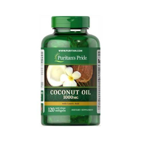 Coconut Oil Capsules For Candida, Weight Loss, High Bp And Utis