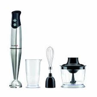 400 W Black And Stainless Steel Hand Blender Set.