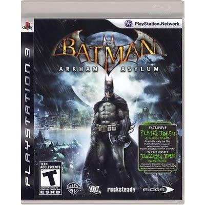 PS3 Batman Arkham Asylum