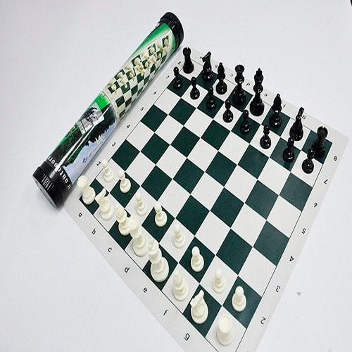 high grade chess board game easy to carry outdoor tournament size chess set