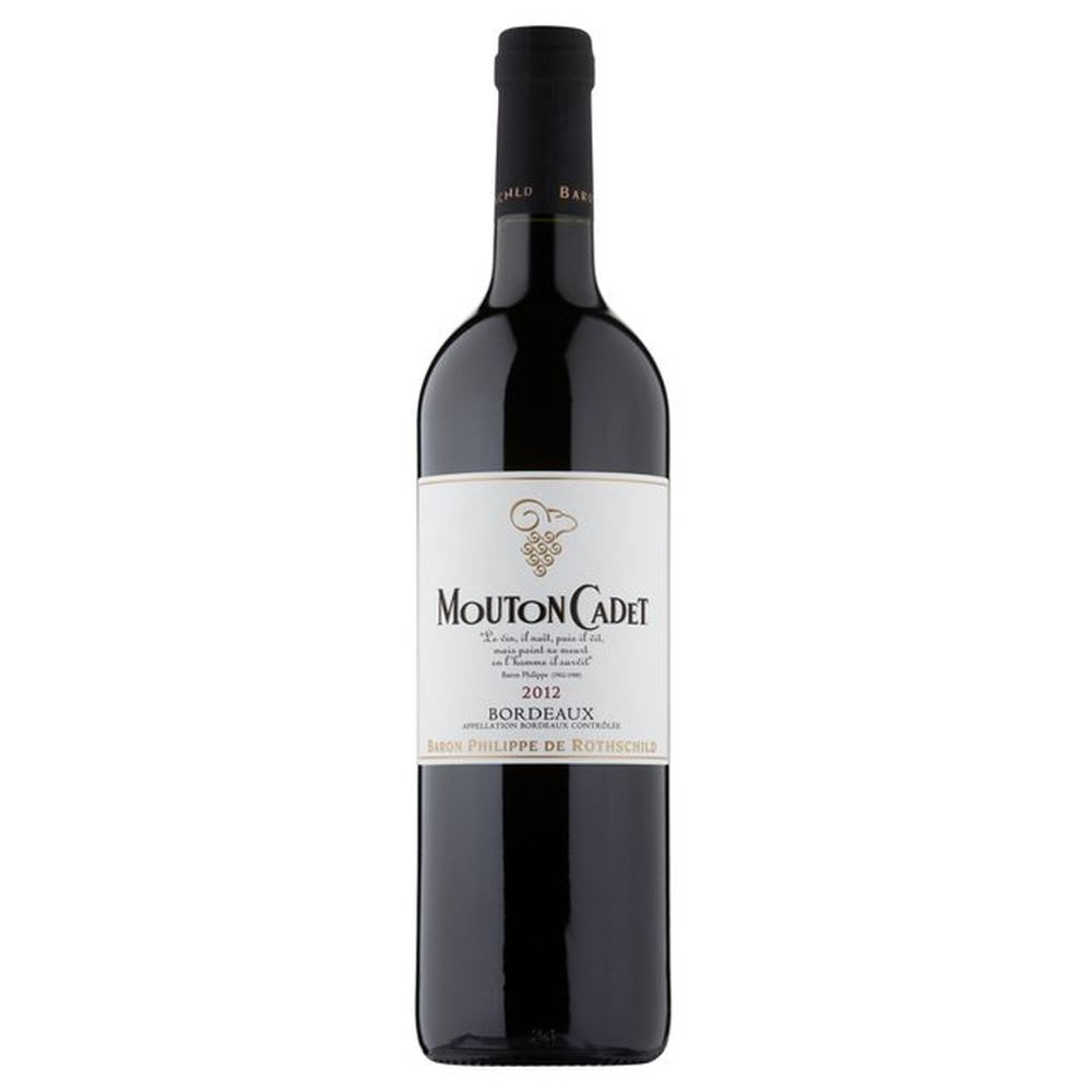 Cadet Bordeaux Red Wine 75cl (Single Bottle).