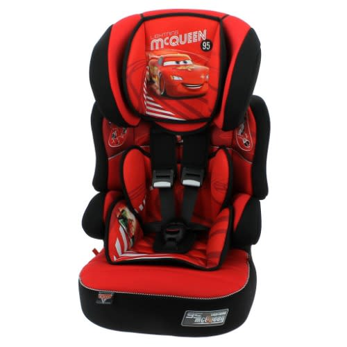 Booster Seat - Cars Lightning McQueen