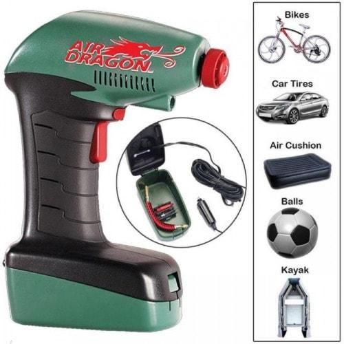 Air Dragon Tire Inflator >> Air Dragon Portable Air Compressor Analog Pressure Emergency Inflator