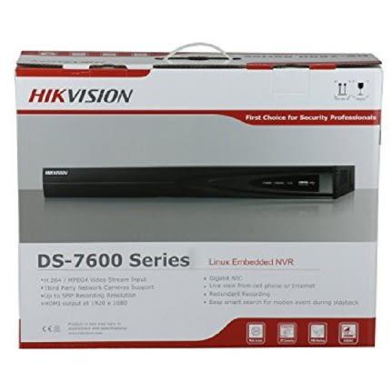 Hikvision Video Surveillance Hikvision NVR DS-7616NI-E2/16P 16CH 16ports POE