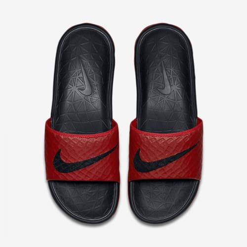9a4ec0b0cf1c Nike Benassi Solarsoft 2 Slide University - Red   Black