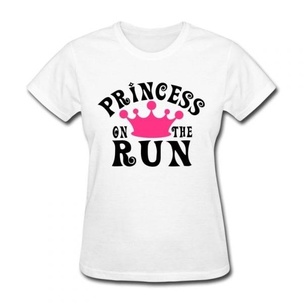 5f4c53b5 Danami Female Princess Printed Round Neck T-Shirt - White | Konga ...