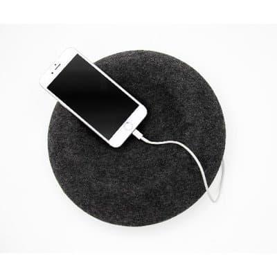 Arina Wireless Bluetooth Speaker 360 Sound - Charcoal