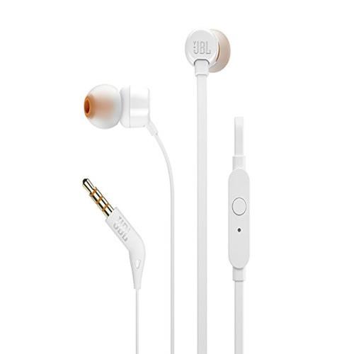 9b6f0e6b5b2 JBL Jbl T110 Pure Sound Bass In-Ear Headphones (White) | Konga ...