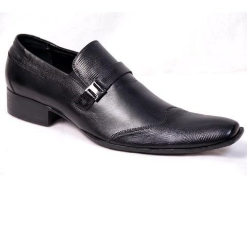 Aldo Black Leather Dress Shoe   Konga