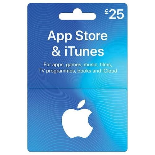 iTunes Gift Card UK - £25