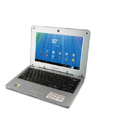 Android Laptop - Silver - 10.1''