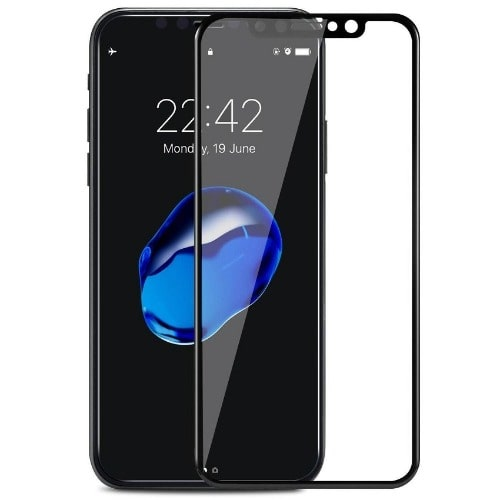 premium selection 14aa4 6045a Apple Iphone X Tempered Glass Screen Protector Black | Konga Online ...