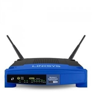 Wi-Fi Wireless-G Broadband Router - WRT54GL