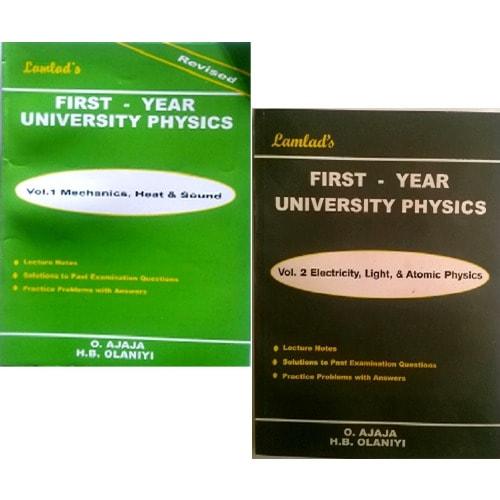 First-Year University Physics Vol 1 & 2 by O  Ajaja