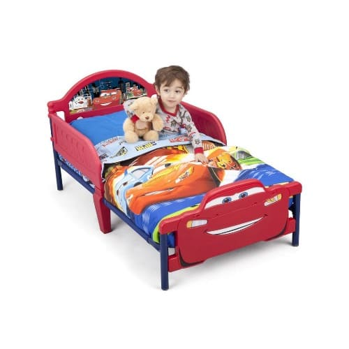 buy popular 28c52 e61c0 Cars McQueen Toddler Bed With Mattress