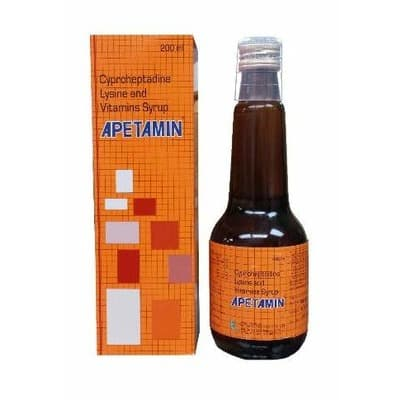 Apetamin Cyproheptadine, Lysine & Vitamins Syrup