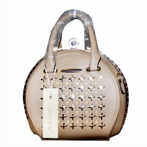 280240976 Susen Classic Ladies Hand Bag - Cream | Konga Online Shopping
