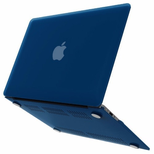 wholesale dealer 92fee 646b9 Rubberized Hard Case for MacBook Air 13 inch - Blue