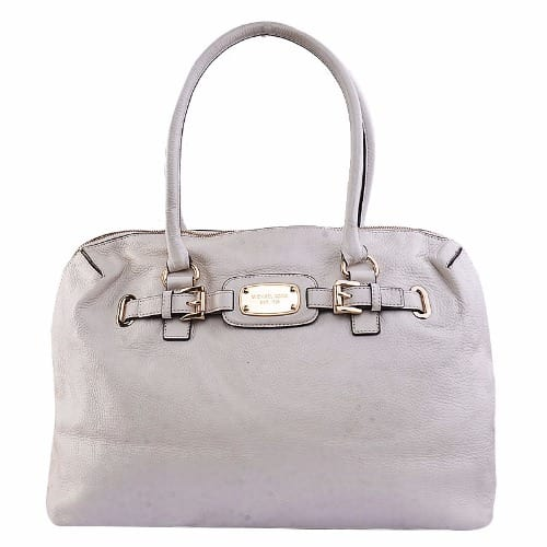 0e94b9478a4d Michael Kors Leather Hamilton Weekender Handbag