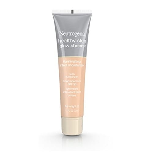 Neutrogena Healthy Skin Glow Sheers Broad Spectrum Spf 30, Fair To Light 20.