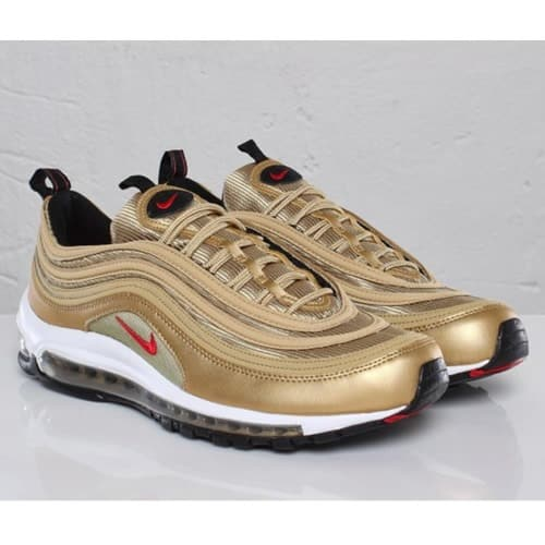 outlet store sale 32cd2 5b9ab Air Max 97 retro OG Gold and white