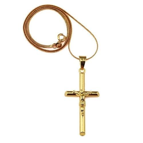 /N/e/Necklace-with-Plain-Jesus-Crucifix-Pendant-6567393.jpg