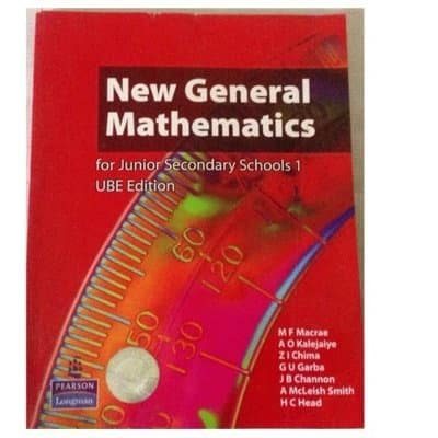 New General Mathematics For Senior Sec Sch 1 | Konga Online