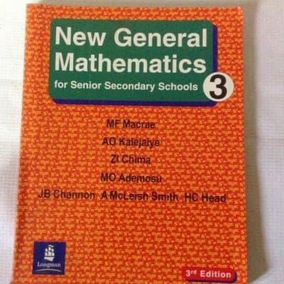 New General Mathematics for Senior Secondary School SS3
