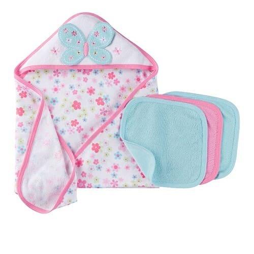 2315c1695cf2 Gerber Newborn Baby Girl Gift Set Hooded Towel & Wash Cloth | Konga ...