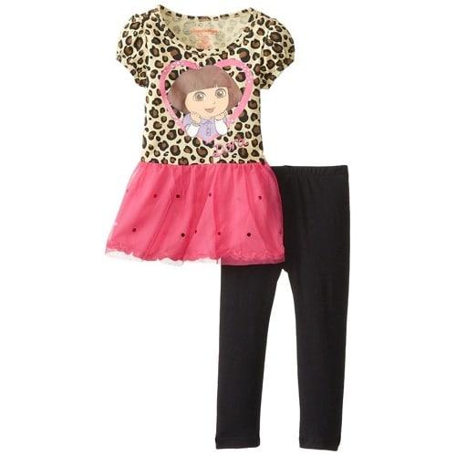 /N/i/Nickelodeon-Little-Girls-Dora-2-Piece-Print-Short-Sleeve-Legging-Set---Brown-6035943.jpg