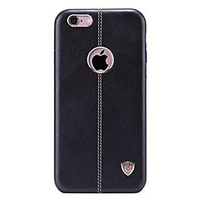 separation shoes 568a2 77d21 Nillkin Englon Leather Cover Hard PC Back Cover Case for iPhone 7 Plus -  Black