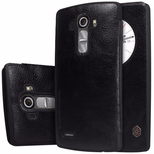 sale retailer 84c2c e0358 Nillkin LG G4 Smart Flip Case - Black