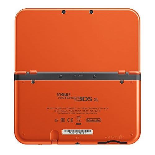 Nintendo 3DS Console : Orange + Black