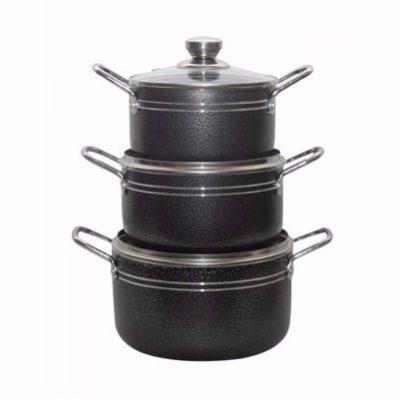 d853b4c9883e Master Chef Non-Stick Pots Set - 3 Pcs   Konga Online Shopping