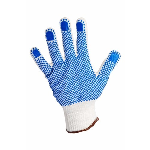 cb54383b41 Nylon Polka Dot PVC Work Safety Grip Gloves - 3 Pairs | Konga Online ...
