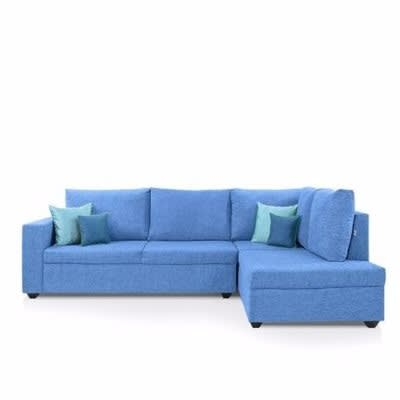 O2 L Shape Fabric Sofa 6 Seater | Konga Online Shopping