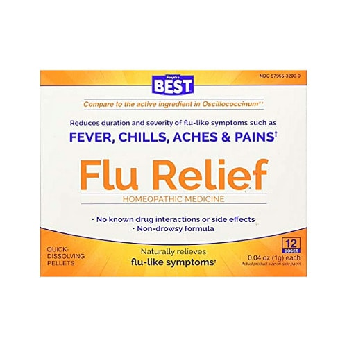 People's Best Flu Relief 12 Dose.