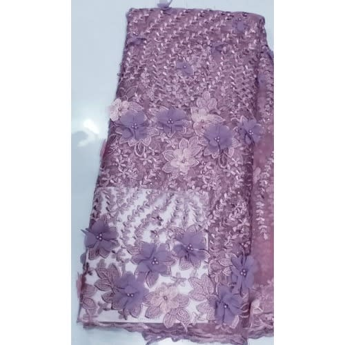 Netcord Lace - Magenta - 5 Yards